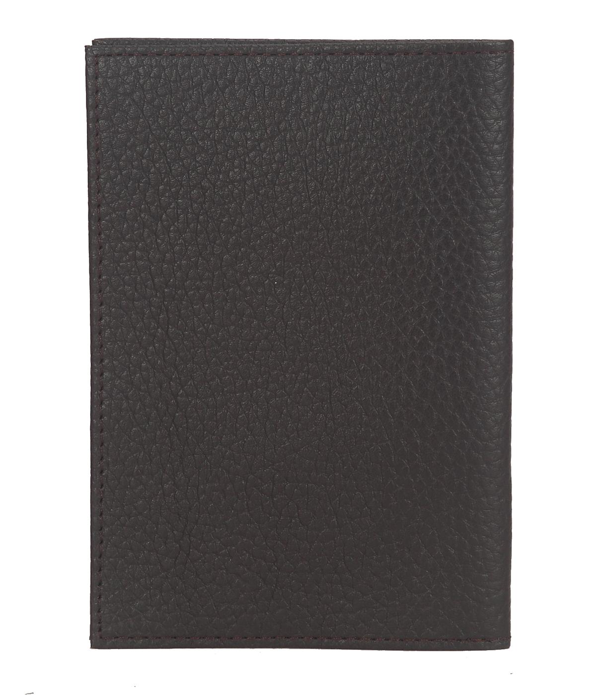 W251--Passport cover in Genuine Leather - Black